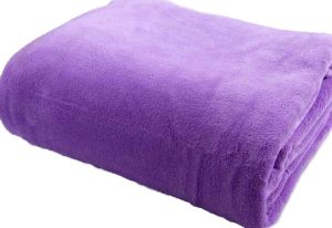 Wholesale Solid Color Polar Fleece Throw Blanket pictures & photos