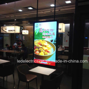 Restaurant Equipent for LED Menu Board Fast Food Hanging LED Light Panel Advertising Light Box Store Display pictures & photos
