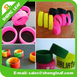 Promotional Items Silicone Rubber Finger Ring (SLF-SR005) pictures & photos