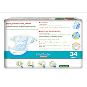 Soft and Breathable Baby Diapers (blue, XL) pictures & photos