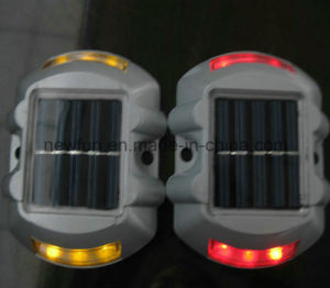Solar Powered 6 Flash LED Reflective Road Stud pictures & photos