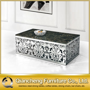 Italian Design Square Marble Top Coffee Table pictures & photos
