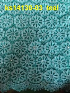 Guipure French Lace Fabric African Cord Lace 2015 pictures & photos