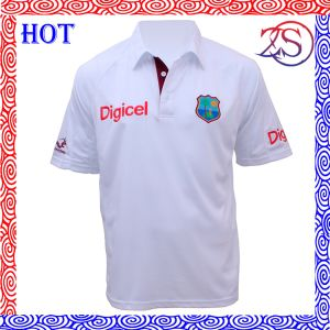 Full Sublimation Custom Cut and Sew Cricket Jersey pictures & photos