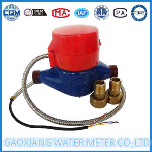 Dn15mm Wired Remote Reading Water Meter, Iron Body pictures & photos