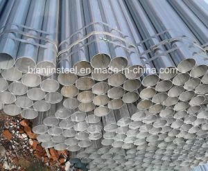 Silver Color Dn20 Galvanized Steel Pipe pictures & photos