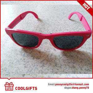 Fashion Foldable Cheap Sunglasses with Custom Logo for Promotional Gift pictures & photos