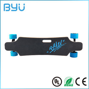 Fashion 4 Wheels Powerful Electric E-Skateboard with Ce/RoHS Certificates