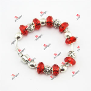 Red Glass Beads Snake Brass Bracelet Jewelry Gifts (OID60229) pictures & photos