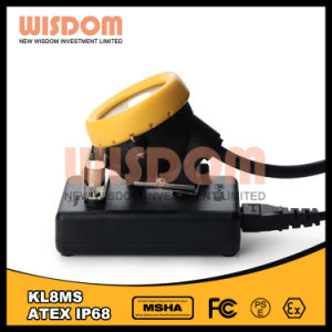 Wisdom Kl8ms USB Rechargeable LED Coal Miners Helmet Light pictures & photos