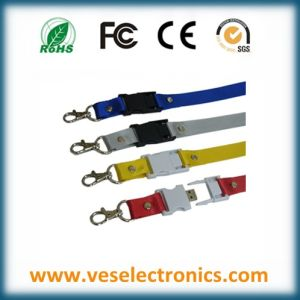 Lanyard USB Disk Corporate Gift USB Flash Drive pictures & photos