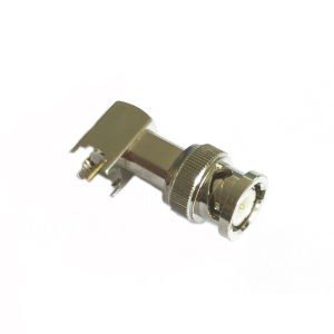 R/a BNC Male Connector for PCB Mount pictures & photos