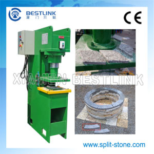 Hydraulic Stone Stamping Machine for Making Firepits pictures & photos