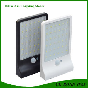 36LED Solar Sensor Light with 3 in 1 Lighting Modes pictures & photos