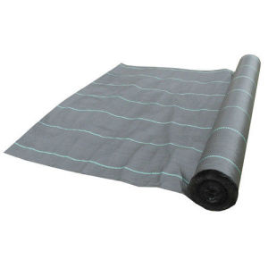 100GSM Circular Loom PP Weed Barrier Mat pictures & photos