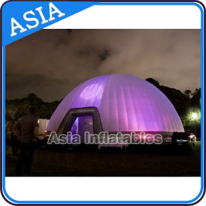 Portable Customized Illuminated Inflatable Event Dome pictures & photos