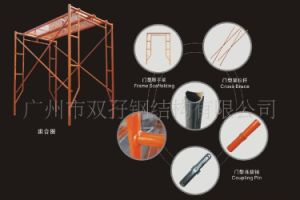Safety R Shaped Cutting Frame Scaffolding for Building Project pictures & photos