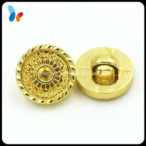 Plating Gold Color Plastic ABS Sew on Button for Fashion Clothes pictures & photos