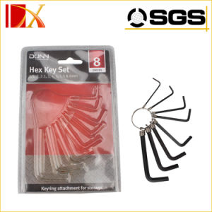 8PCS and 10PCS Hand Tools/Wrench Key Ring /Hex Key on Ring