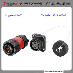 China Manufacturer Circular Connectors/ Male Female Connector for 2.5-4mm2 Wire pictures & photos