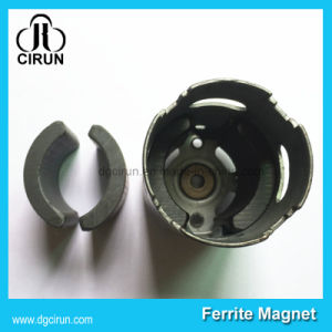 Strong Permanent Arc Ferrite Motor Magnets pictures & photos