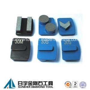 Redi Lock System Segment Diamond Grinding Metal Pad pictures & photos