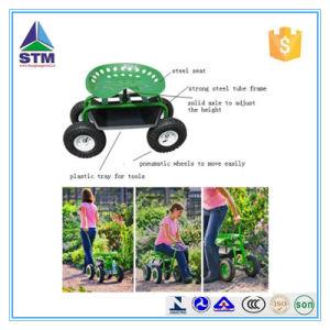 Four-Wheel Cheap Garden Tool Cart pictures & photos