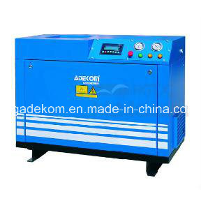 Portable Electric Work Place Lubricated Screw Air Compressor (K5-10D) pictures & photos