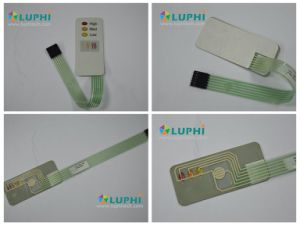 Embossed LED Windows LED Backlighting Silver Contacts Membrane Switch (MIC-0027) pictures & photos