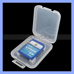 Factory Price Memory Card Holder Plastic Case for SD Card pictures & photos