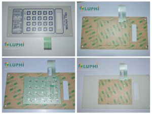 Control Panel Membrane Keyboard Pet Printing Circuit Switch for Call Station pictures & photos
