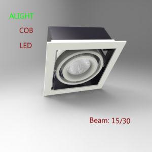 New Design China Supplier Aluminum Die-Casting LED Grille Light 35W COB