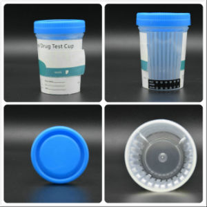 Urine Drug Test Cup with Alcohol and Adulteration Test pictures & photos