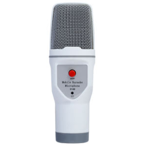 Sf-690 3.5 Stereo Plug Professional Wired Mobile Karaoke Microphone for Mobile Phone PC pictures & photos