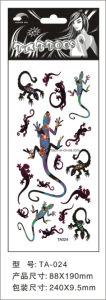 8.8*19cm Gecko Tattoo Stickers for Adult Ta24