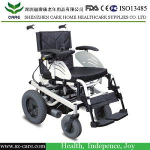 Height Adjustable Lifting Power Motorized Wheelchair pictures & photos