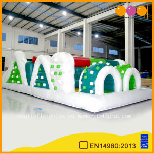 Inflatable Green Combos Obstacle Course for Sale (AQ1484-1) pictures & photos