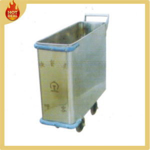 Stainless Steel Train Meal Delivery Service Trolley pictures & photos