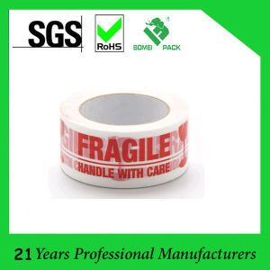 Fragile BOPP Custom Printed Box Packing Tape (KD-0423) pictures & photos