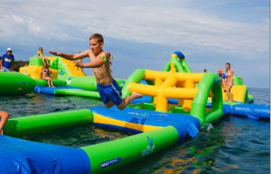 Made in China Commercial Inflatable Water Park (B001) pictures & photos
