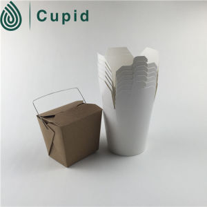 Disposable Round Bottom Paper Food Container pictures & photos