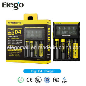 Nitecore D4 Intelligent Digital Charger for 18650 Li-ion Battery pictures & photos