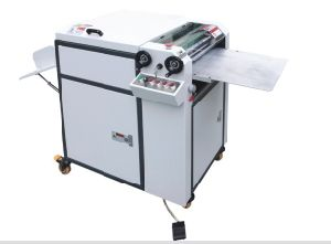 Manual UV Glazing Machine Hssguv-480 pictures & photos