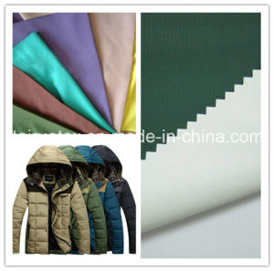 PA Coated Microfiber Polyester Pongee for Down-Proof Jacket pictures & photos