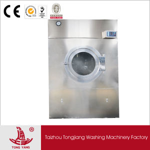 Gas Heated/ Vertical Front-Loading Rotary Dryer /Clothes Tumble Dry Equipment (SWA-100) pictures & photos