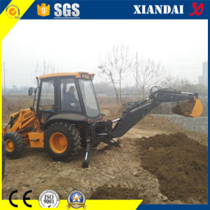 Competitive Price Cummins Engine Backhoe Loader (4WD) Xd850 pictures & photos