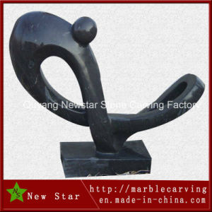 Black Abstract Artwork Granite Gift Sculpture pictures & photos