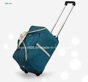 Big Capacity Waterproof Trolley Wheeled Sports Travel Luggage Bag (CY3412) pictures & photos