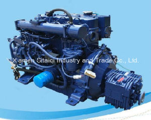 High Speed Marine Diesel Engine with Gearbox for Lifeboat 68HP pictures & photos