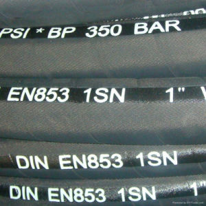 "Hydraulic Hose 3/8"", 2610 Psi, 100r1at pictures & photos"